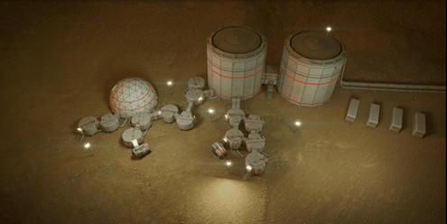 visualitation d une colonie spatial