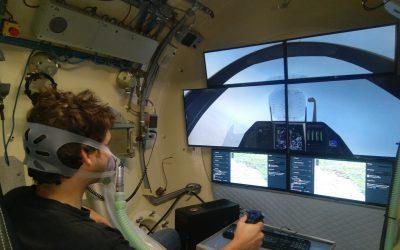 Un simulateur de vol vient équiper le Centre d'Essais Hypobares de la COMEX