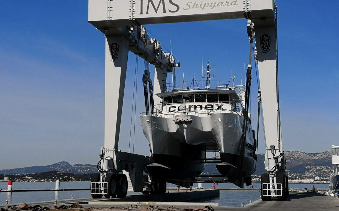 The COMEX oceanographic fleet is revamped