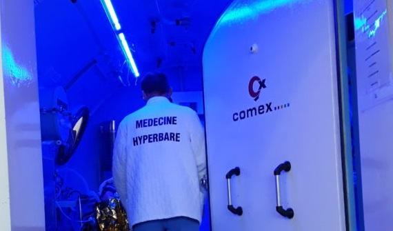 Comex partenaire de la médecine hyperbare