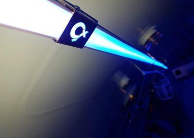 nouvelle eclairage led pour caisson hyperbare