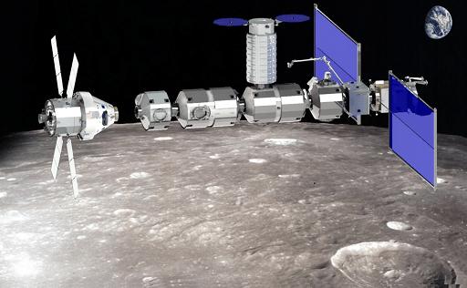 la Comex et Airbus s'associent autour d'un module de la future station lunaire