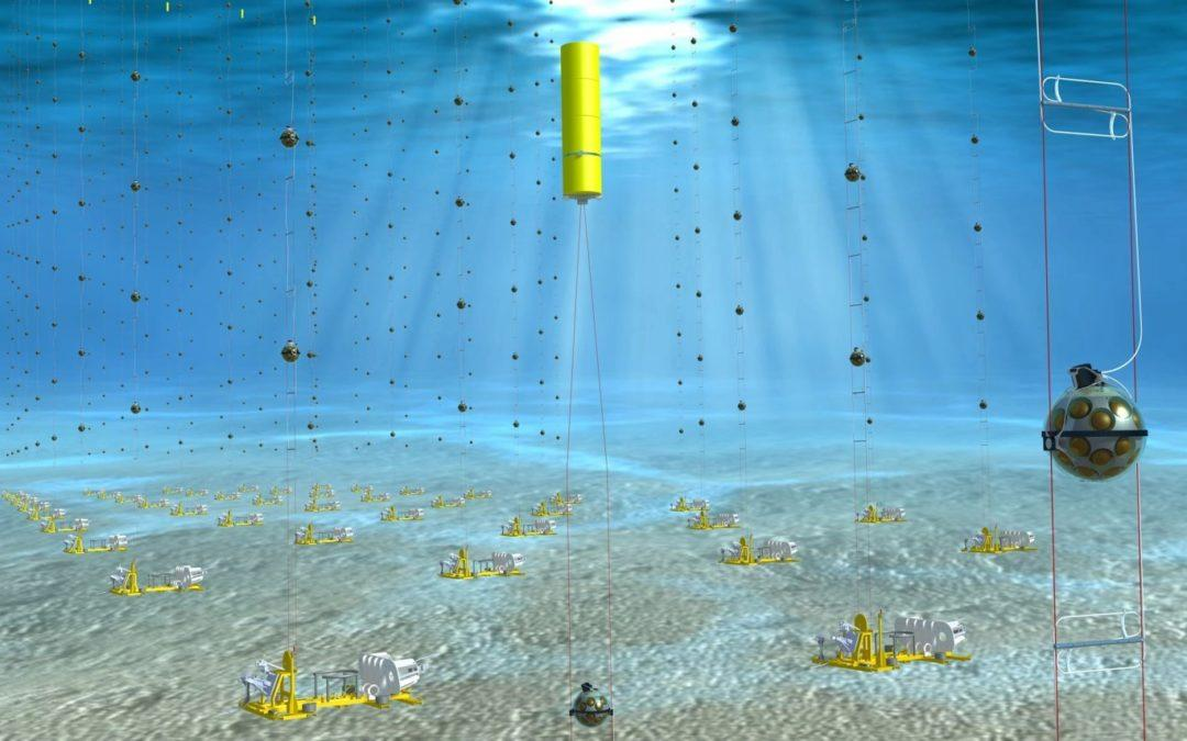 Comex maritime expertise for neutrino research